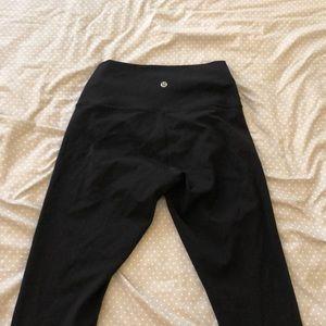 Lululemon Size 6 Wunderunder Leggings Size 6.
